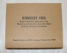 32 ct Vintage Kingsley Hot Stamping Foil - Green Red Black Brown FREE SHIPPING