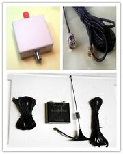 100KHz-1.7GHz full band UV HF RTL.SDR USB Tuner Receiver 6M antenna  balun 9:1