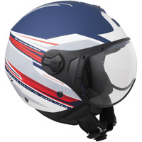 Casco Demi-Jet Open Face CGM 107X Manchester Per Moto e Scooter Omologato