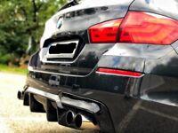 BMW F10 F11 Rear Bumper Diffuser Spoiler Lip for M-Paket