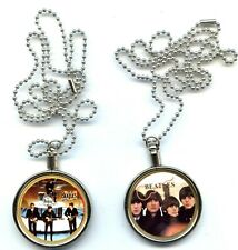 Beatles UK Coin Necklace, Set of 2