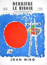 Joan Miro - Original Mourlot Lithographs - Derriere Le Miroir, No. 14-15, 1949