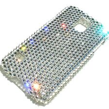 Clear Diamond Bling Back Case for Samsung Galaxy S5 made w/ Swarovski Crystals