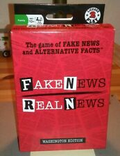 Fake News Real News Card Game, Fake News & Alternative Facts License 2 Play Toys