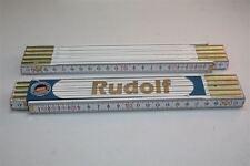 """Doppio Metro con Nome """"Rudolf"""" incisione Laser 2 metri Qualità da Artigiano"""