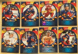 2015-16 SeReal KHL Jokerit trading cards collection 32 autograph cards set **/80