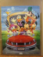 Vintage Mickey and Friends Walt Disney original poster 9551