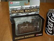 WW#2, USA, M4 SHERMAN TANK - US ARMY, CORGI TOY, Die Cast Metal Toy, SCALE 1/80