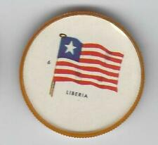 1963 General Mills Flags of the World Premium Coins #6 Liberia