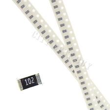 50 pcs SMD SMT 1206 Chip Resistors Surface Mount 1K 1Kohm 102 +/-5% RoHs