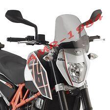 PARABRISAS SPOILER KTM DUKE 690 2012 2013 CON ATAQUES 245A + A7702A
