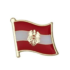 AUSTRIA AUSTRIAN REPUBLIC FLAG METAL AND ENAMEL PIN BADGE BRAND NEW FREE POST