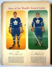 1958 Full Star Weekly Magazine NHL Toronto Maple Leafs Stewart/Mahovlich