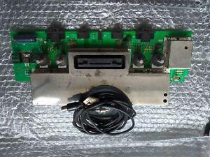 Placa + cable av Atari 2600, modelo 4 interruptores Darth Vader, funcionando
