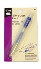 Dritz Tailor's Chalk Pencil with Three Colors of Chalk