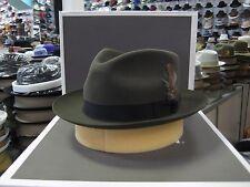 STETSON DOWNS MOSS FUR FELT C-CROWN DRESS HAT