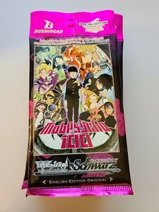 Mob Psycho 100 CCG Weiss Schwarz Sealed Booster Pack