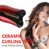 Air Spin N Curl Ceramic Automatic Curling Wand Iron Hair Curler 360°Rotating D3