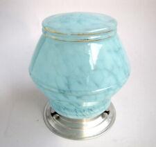 Ancienne Lampe Art Déco Globe en Verre