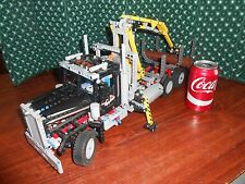 LEGO HUGH Technic Logging Truck (9397) Motorized Assembled = no box, no Manual
