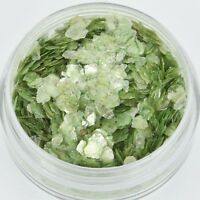 CHARTREUSE GREEN Shattered Mica Glitter Shards for Ice Resin by Ranger CFT0105