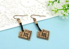 ORECCHINI ETNICI VINTAGE INTAGLIATI - Long earrings Style Ethnic Vintage