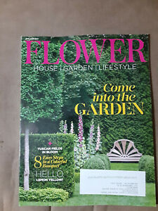 FLOWER  magazine: House  Garden Lifestyle. May/June 2021. Come into the Garden!