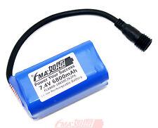 Panasonic NCR18650B 7.4V 6800mAh Protected Li-ion battery for Bike Light 2S2P US