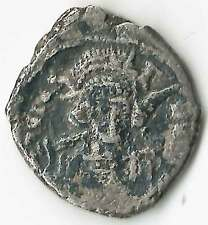 BYZANTINE - CONSTANTINE IV(668-685AD) AR Hexagram /Heraclius & Tiberius S1172 VF
