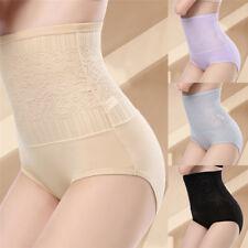 Women Tummy Control Lace High Waist Body Shaping Panties Shapewear Underwear JX