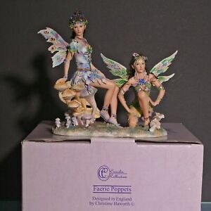 Christine Haworth Faerie Poppets 'Faeries of the Misty Morning' Ltd Ed with Box