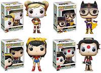 Funko POP! Heroes ~ DC BOMBSHELLS VINYL FIGURE SET ~ Harley, Wonder Woman++