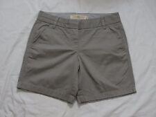 "J CREW 7"" CHINO SHORT 2 XS X-Small S Small Shorts Summer Nickel NEW NWT 20890"