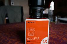 Objectif Sony 50 f1,4 monture A