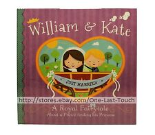 PIGGY TOES PRESS A Royal Fairytale WILLIAM & KATE Hardcover Book +FINGER PUPPETS