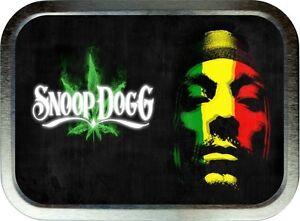 Snoop Dog  2oz Silver Tobacco Tin , Stash Can , Storage Unit.