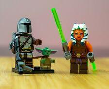 Baby Yoda, The Mandalorian and Ahsoka Tano Star Wars Minifigure custom Lego - US