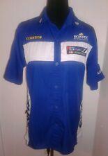 JOE ROCKET Suzuki Spellout Racing Pit Crew Shop XS Button Shirt Dunlop