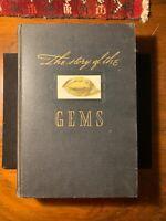 Diamonds Gems Whitlock Color Illustrations 1936 1st Lapidary Precious Stones NR!