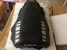 Yamaha YZ100 YZ125 brand new replacement seat cover best quality white dyed logo