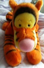 Large Tigger soft toy with zip compartment for filler - Excellent condition