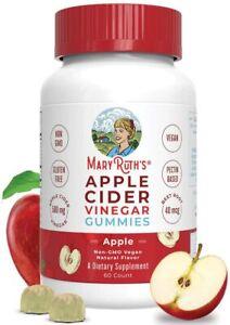 Organic Apple Cider Vinegar Gummies by MaryRuth's, Superfood Supplement, Non-GMO