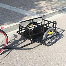 ❤ Cycling Esright Foldable Bike Trailer Cargo Utility Luggage Bicycle ❤ New