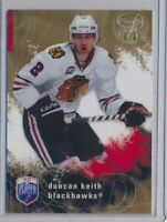 2007-08 Be A Player GOLD Players Club 47 Duncan Keith /99 Chicago Blackhawks