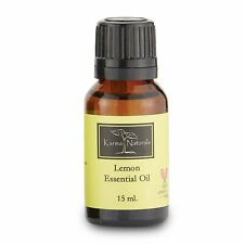 "Unisex Karma Organic Women Lemon Essential Oil 100% Pure Therapeutic Grade""15ml"""