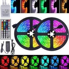 5-30M LED Strip Light 5050 SMD RGB 60Leds/m Waterproof 44Key IR Controller+Power