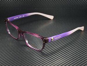 COACH HC6082 5351 Crys Plum Blush Grad Demo Lens 53 mm Women's Eyeglasses
