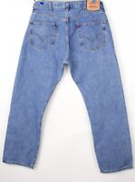 Levi's Strauss & Co Hommes 501 Jeans Jambe Droite Taille W38 L32 BCZ616