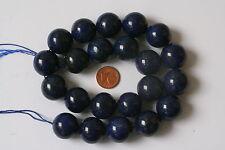 LAPISLAZULI lazuli-strang (Bola 18,3MM) j-0377/J