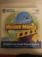 Learning Resources Code & Go Mouse Mania Ages 5 + Board Game